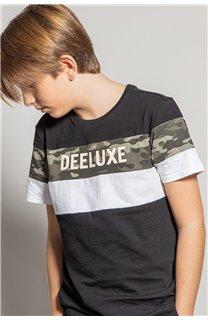 T-Shirt T-Shirt WICKSON Garçon S20185B (53659) - DEELUXE