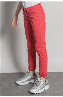 Pantalon PANTALON PIME Fille S20729G (53674) - DEELUXE