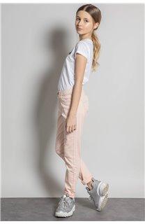 Pantalon PANTALON PIME Fille S20729G (53676) - DEELUXE