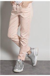 Pantalon PANTALON PIME Fille S20729G (53677) - DEELUXE