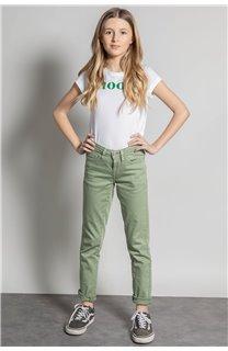 Pantalon PANTALON PIME Fille S20729G (53680) - DEELUXE