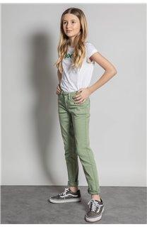 Pantalon PANTALON PIME Fille S20729G (53681) - DEELUXE