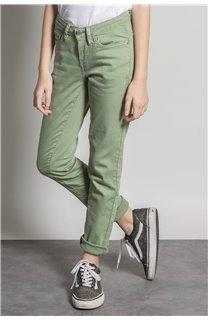 Pantalon PANTALON PIME Fille S20729G (53682) - DEELUXE