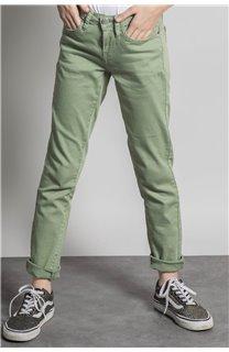 Pantalon PANTALON PIME Fille S20729G (53684) - DEELUXE