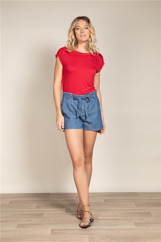 T-Shirt LYSE Femme S20120W (54233) - DEELUXE