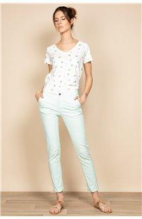 Pantalon SHINO Femme S20722W (54688) - DEELUXE