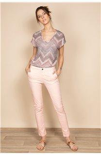 Pantalon SHINO Femme S20722W (54698) - DEELUXE