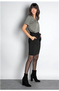 Jupe JUPE BELINA Femme W20763W (54907) - DEELUXE