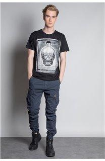 T-Shirt CRYSTAL Homme W20184M (54961) - DEELUXE