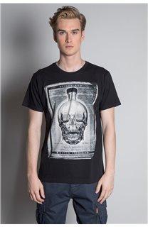 T-Shirt CRYSTAL Homme W20184M (54962) - DEELUXE