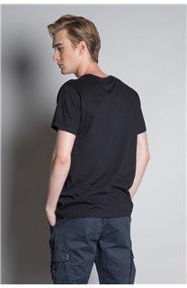 T-Shirt CRYSTAL Homme W20184M (54963) - DEELUXE