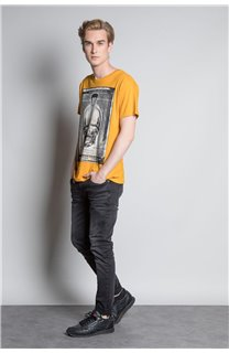 T-Shirt CRYSTAL Homme W20184M (54966) - DEELUXE