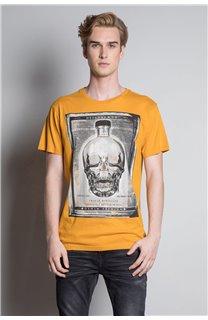 T-Shirt CRYSTAL Homme W20184M (54967) - DEELUXE