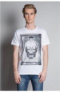 T-Shirt CRYSTAL Homme W20184M (54972) - DEELUXE