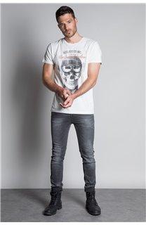 T-Shirt T-SHIRT CLEM Homme W20196M (54976) - DEELUXE