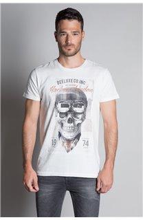 T-Shirt T-SHIRT CLEM Homme W20196M (54977) - DEELUXE