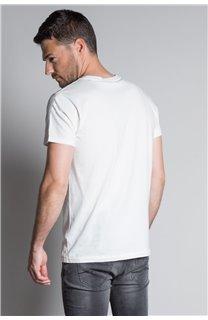 T-Shirt T-SHIRT CLEM Homme W20196M (54978) - DEELUXE