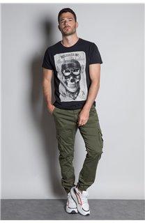 T-Shirt T-SHIRT CLEM Homme W20196M (54980) - DEELUXE