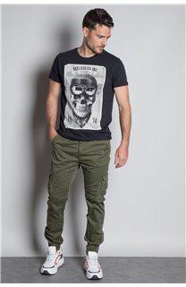 T-Shirt T-SHIRT CLEM Homme W20196M (54981) - DEELUXE