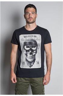 T-Shirt T-SHIRT CLEM Homme W20196M (54982) - DEELUXE