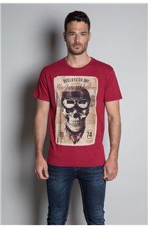 T-Shirt T-SHIRT CLEM Homme W20196M (54985) - DEELUXE