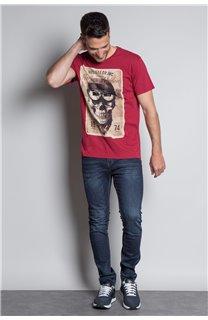 T-Shirt T-SHIRT CLEM Homme W20196M (54986) - DEELUXE