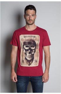 T-Shirt T-SHIRT CLEM Homme W20196M (54987) - DEELUXE