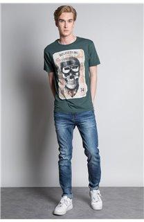T-Shirt T-SHIRT CLEM Homme W20196M (54990) - DEELUXE