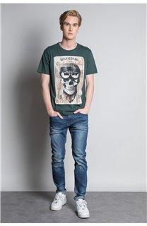 T-Shirt T-SHIRT CLEM Homme W20196M (54991) - DEELUXE