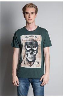 T-Shirt T-SHIRT CLEM Homme W20196M (54992) - DEELUXE