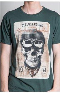 T-Shirt T-SHIRT CLEM Homme W20196M (54994) - DEELUXE