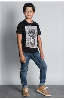 T-Shirt CLEM Garçon W20196B (55094) - DEELUXE