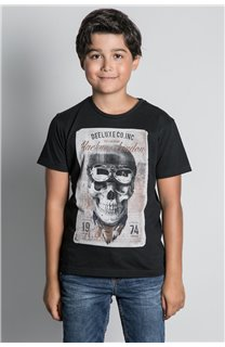 T-Shirt CLEM Garçon W20196B (55095) - DEELUXE