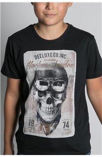 T-Shirt CLEM Garçon W20196B (55097) - DEELUXE