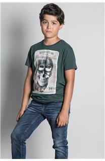 T-Shirt CLEM Garçon W20196B (55099) - DEELUXE