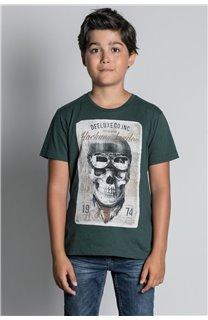 T-Shirt CLEM Garçon W20196B (55100) - DEELUXE