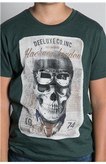 T-Shirt CLEM Garçon W20196B (55102) - DEELUXE