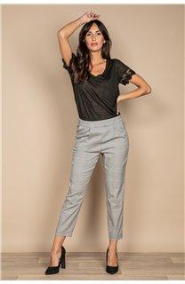 Pantalon PANTALON NADEGE Femme W20725W (55164) - DEELUXE