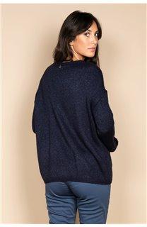 Pull PULL CLOTHILDE Femme W20310W (55256) - DEELUXE