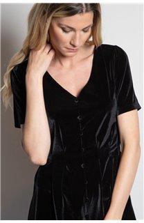 Robe ROBE ABELA Femme W20208W (55322) - DEELUXE