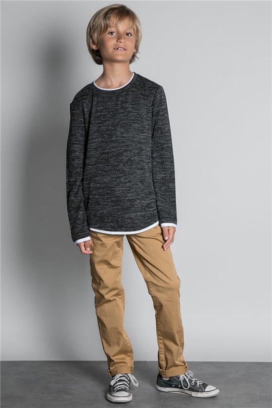 T-Shirt T-SHIRT MOHANSON Garçon W20173B (55353) - DEELUXE
