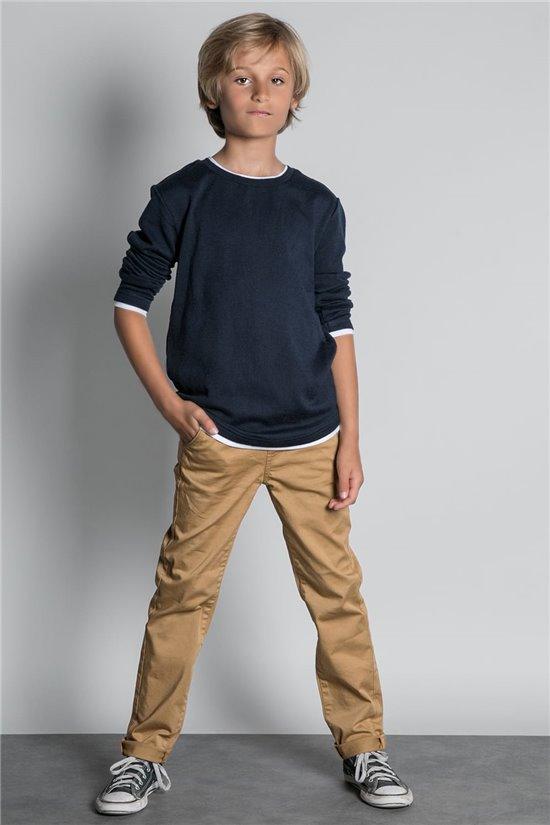 T-Shirt T-SHIRT HANSONER Garçon W20174B (55363) - DEELUXE