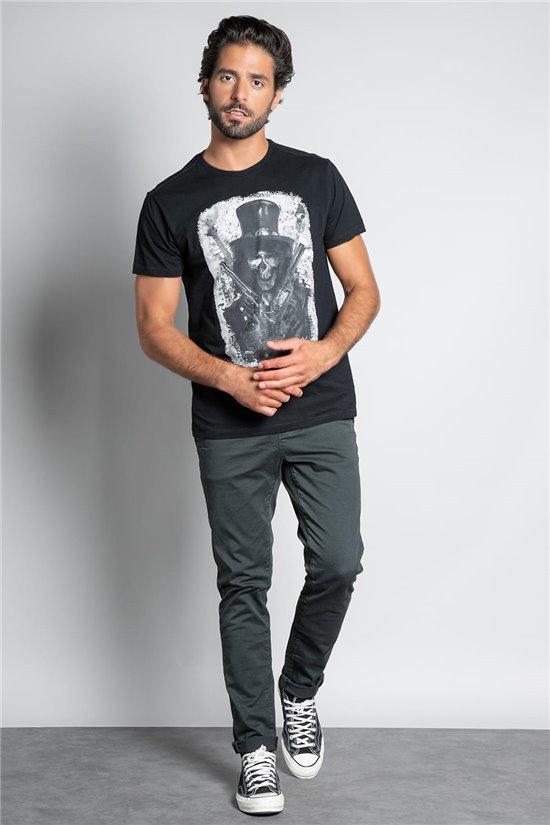 T-Shirt T-SHIRT GUNS Homme W20199M (55433) - DEELUXE