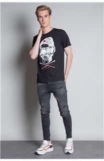 T-Shirt T-SHIRT LANDY Homme W20142M (55454) - DEELUXE
