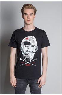 T-Shirt T-SHIRT LANDY Homme W20142M (55455) - DEELUXE