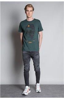 T-Shirt T-SHIRT LANDY Homme W20142M (55459) - DEELUXE