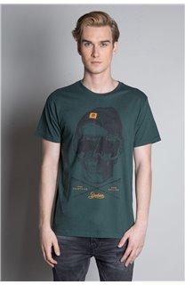T-Shirt T-SHIRT LANDY Homme W20142M (55460) - DEELUXE