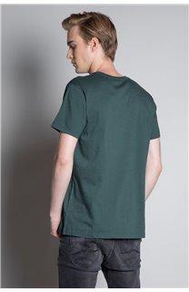 T-Shirt T-SHIRT LANDY Homme W20142M (55461) - DEELUXE