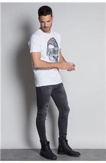 T-Shirt T-SHIRT LANDY Homme W20142M (55464) - DEELUXE