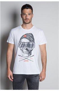 T-Shirt T-SHIRT LANDY Homme W20142M (55465) - DEELUXE